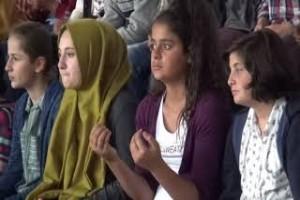 """Güroymak'ta """"81 Şehit 82 Mektup"""" projesi sergisi açıldı"""