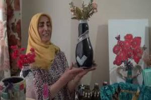 Atık malzemeleri sanat eserlerine dönüştürüyor - Bitlis Bülten