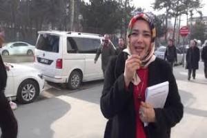 Tatvan'da Pi Günü dolayısıyla sokak röportajı yapıldı - Bitlis13haber